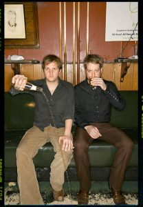 Taylor Young and John Pedigo of The O's