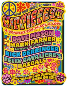 Rick Derringer & Gary Wright - Hippiefest